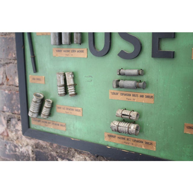 """Industrial """"Use"""" Framed Hardware Sign For Sale - Image 3 of 5"""