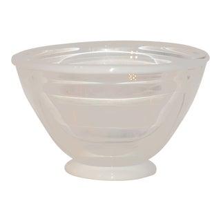 1983 United States Kent Ipsen Blown Glass Memphis Style Bowl