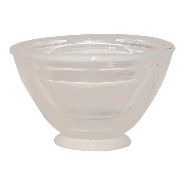 1983 United States Kent Ipsen Blown Glass Memphis Style Bowl For Sale