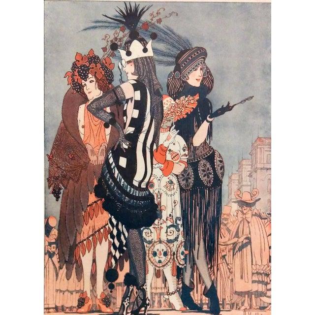 "Armand Valle 1919 Fantasio ""Les Foll' Modes"" Print - Image 4 of 5"