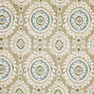 Boho Chic Jane Clayton Madina Linen Designer Fabric by the Yard For Sale