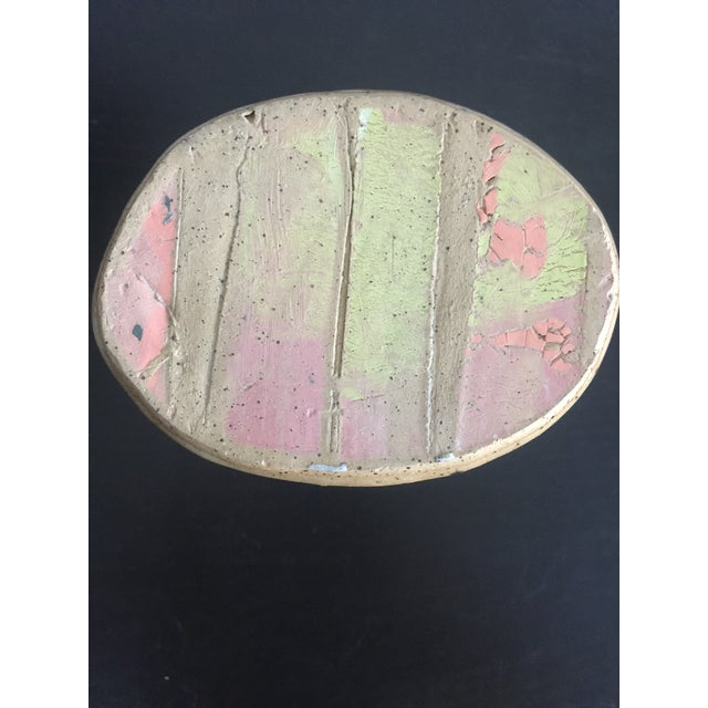 1970s Abstract Colorful Glazed Pottery For Sale - Image 10 of 12