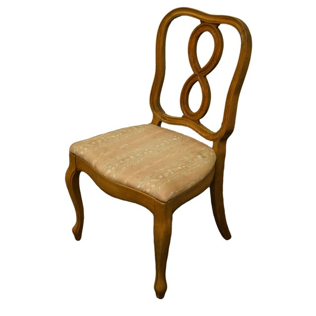 "THOMASVILLE FURNITURE Tableau Collection Dining Side Chair 701-8 35.75"" High 21.25"" Wide 22"" Deep Seat: 17.5"" High We..."