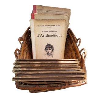 1923 French Librairie Armand Colin Children's Lesson Books - Set of 13 For Sale