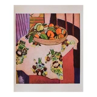 """1940s Henri Matisse, """"Oranges"""" First Edition Period Swiss Lithograph For Sale"""