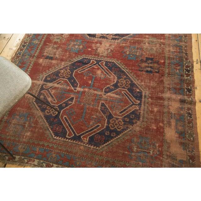 "Vintage Caucasian Carpet - 5'8"" X 7'6"" - Image 9 of 9"