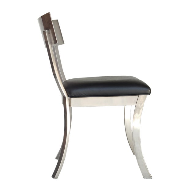 """""""Klismos Style"""" Dining Chairs For Sale - Image 4 of 9"""
