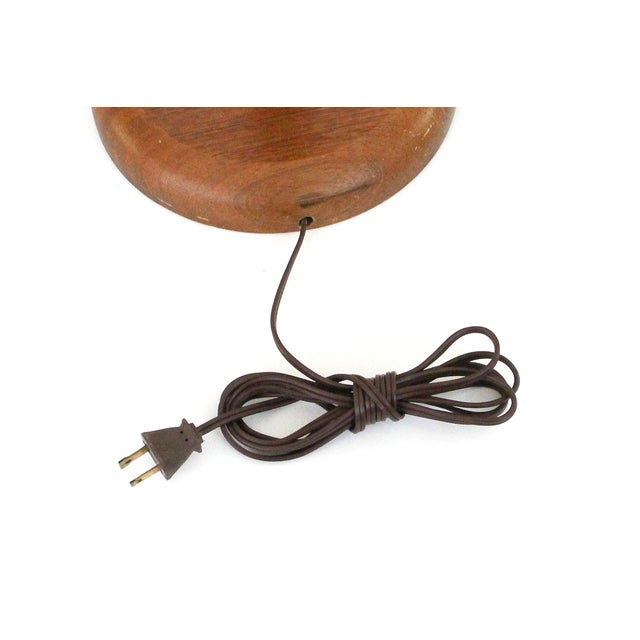 Mid-Century Modern Teak Floor Lamp - Image 9 of 9