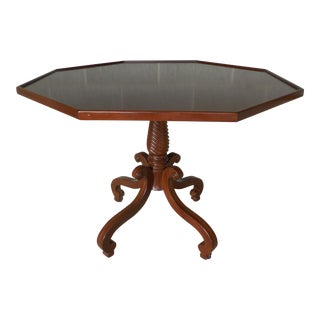 Hadleigh Furniture Mahogany Regency Style Center Entrance Accent Table For Sale