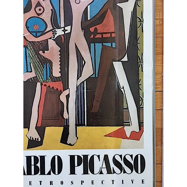 Vintage Picasso Exhibition Poster - Three Dancers - Image 6 of 6