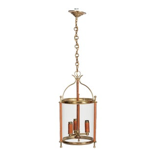 1950s Lantern by Jacques Adnet For Sale