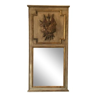 Knight Motif Trumeau Mirror For Sale