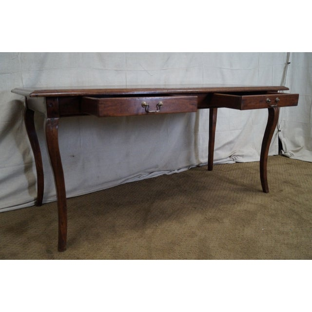 Guy Chaddock French Country Style Writing Desk - Image 5 of 10