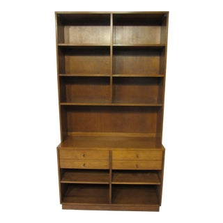 Paul McCobb Planner Group Maple 2 Pc. Bookcase For Sale