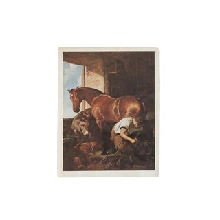Vintage Landseer Print For Sale