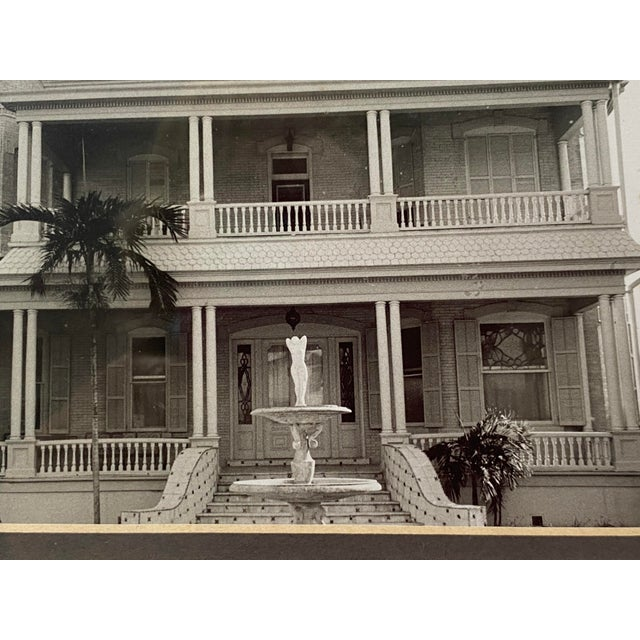 Mid-Century Photograph of Key West's Southernmost House in America For Sale In West Palm - Image 6 of 9