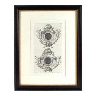 19th Century Italian Jacopo Gibbs Architectural Engraving For Sale