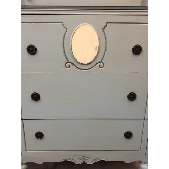 1930s Antique Distressed Dresser - Image 5 of 8