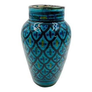 Vintage Italian Pottery Vase For Sale