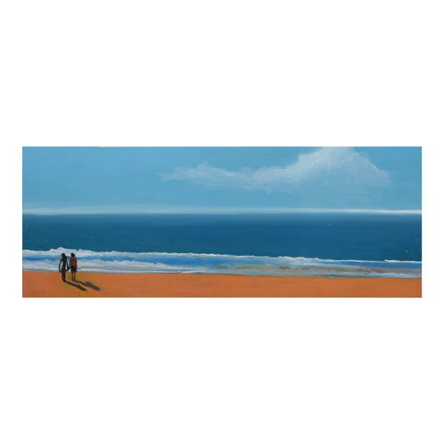 """""""By the Sea"""" Geoff Greene Oil Painting For Sale"""