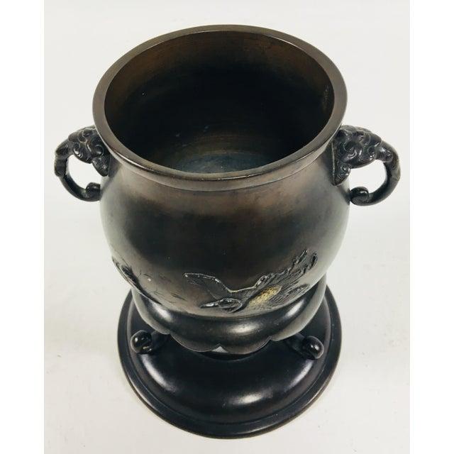 Japanese Bronze Bowl For Sale In Philadelphia - Image 6 of 9