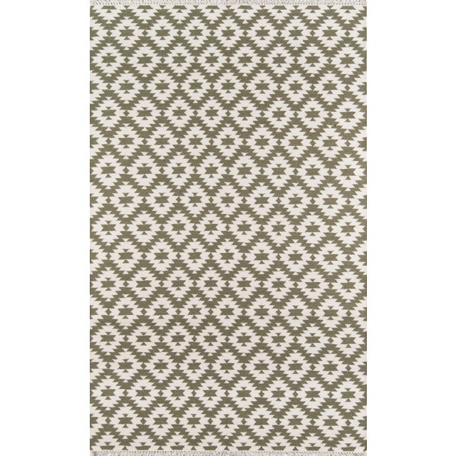 "2010s Erin Gates Thompson Newbury Grey Hand Woven Wool Area Rug 7'6"" X 9'6"" For Sale - Image 5 of 5"