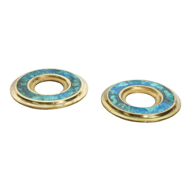 Mid Century Modern Door Ring Pulls by Pepe Mendoza Mexican Modernist For Sale