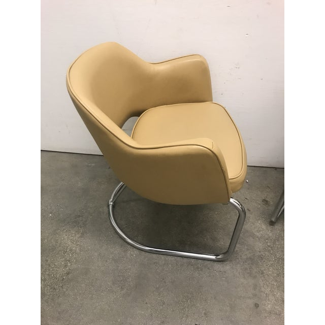 Eero Saarinen Style Chairs - a Pair For Sale In Miami - Image 6 of 11