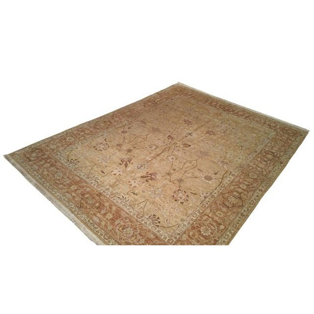 Traditional Handmade Knotted Rug - 8x10 - Image 3 of 4