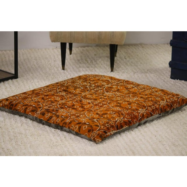 Place this stylish floor pillows in your favorite room and watch it transform the space. This modern rug pillow comes in a...