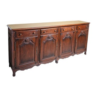 French Walnut Buffet Base For Sale