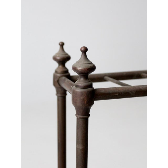Antique Fireplace or Umbrella Stand For Sale - Image 6 of 10