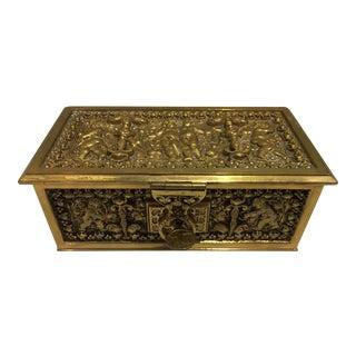 Erhard & Sohne Hinged Box For Sale