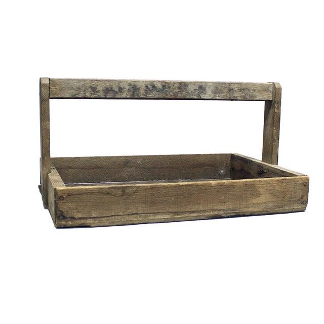 Rustic Wood Handled Pannier - Image 1 of 4