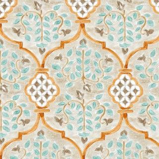 Ferran Sevilla Fabric, 2 Yards, French Grey in Belgian Linen For Sale