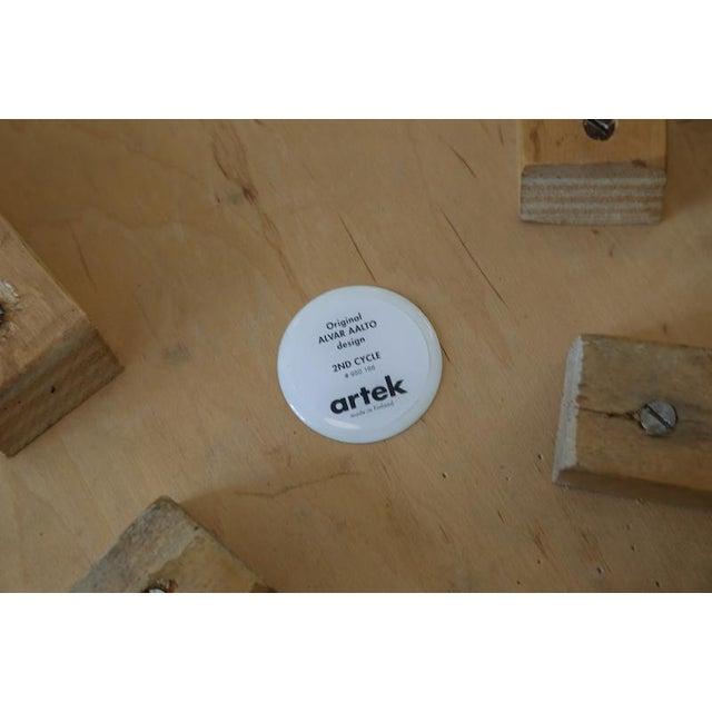 Bentwood Alvar Aalto for Artek Birchwood Chair 65 For Sale - Image 7 of 8