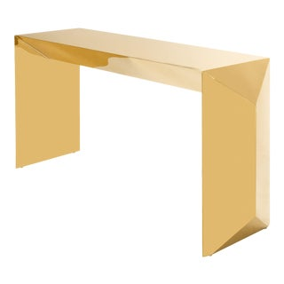 Gold Console Table | Eichholtz Carlow For Sale
