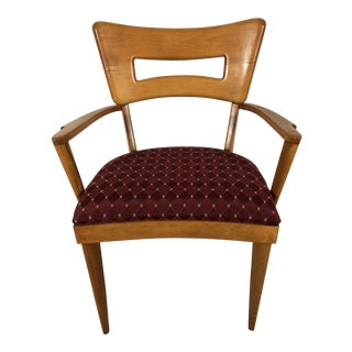"Heywood Wakefield ""Dogbone"" Arm Chair, Vintage 1970s For Sale"