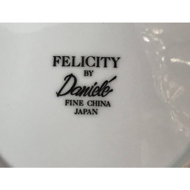"""Mid-Century Daniele """"Felicity"""" China - Set of 27 - Image 11 of 11"""