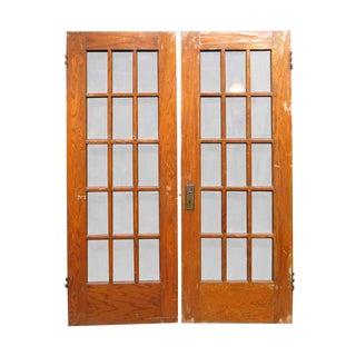 Fifteen Lite French Doors - A Pair