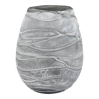 Kenneth Ludwig Chicago Raya Blown Glass Vase/Hurricane For Sale