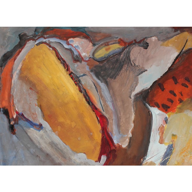 Jack Freeman Expressionist Painting, Circa 1960s - Image 2 of 2
