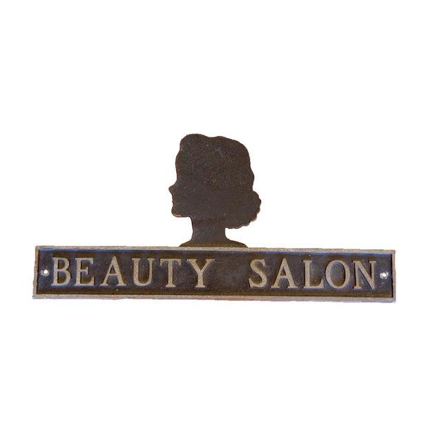 Vintage Beauty Salon Sign