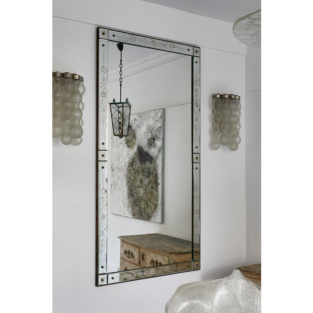 Large Italian Venetian Mirror For Sale - Image 9 of 9