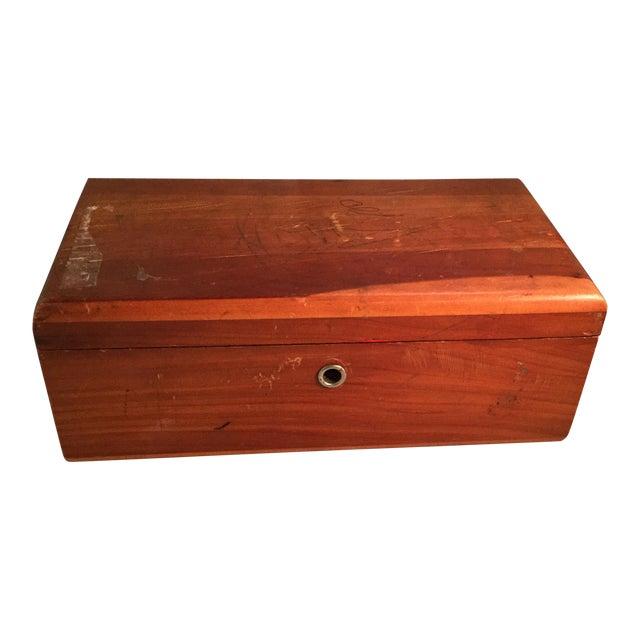 Lane Cedar Handmade Wooden Box, 1980s For Sale