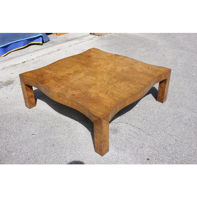 1970s Danish Modern Cherry Wood Coffee Table For Sale - Image 13 of 13