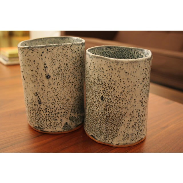 Studio Pottery Vases - A Pair - Image 10 of 11