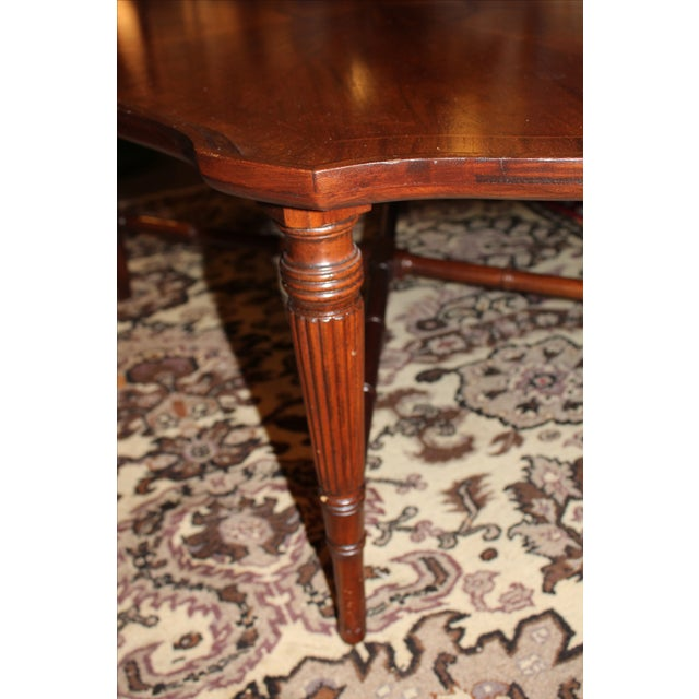 Inlay Oval Coffee Table - Image 4 of 6