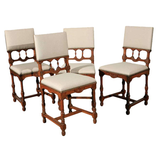 Dining Side Chairs - Set of 12 For Sale
