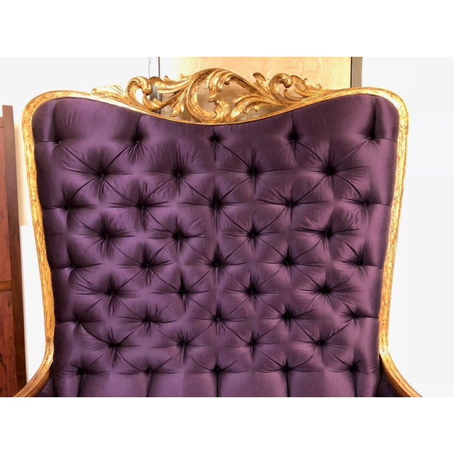 Contemporary Christopher Guy Tufted Loveseat For Sale - Image 3 of 11